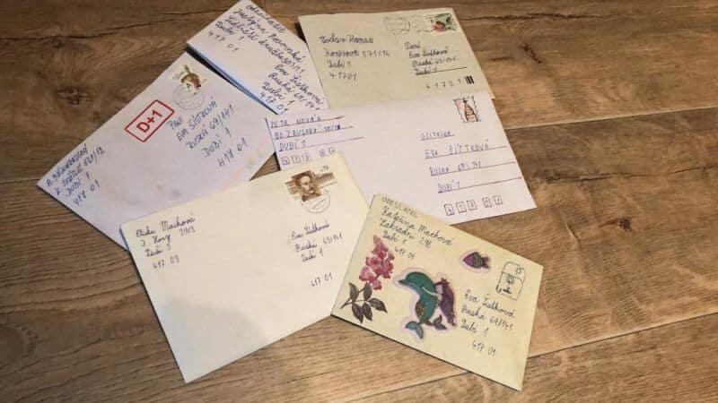 Třeťáci píší dopisy