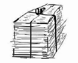 POZASTAVEN sběr starého papíru