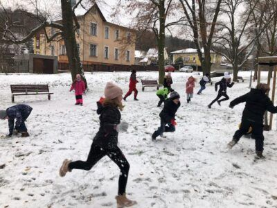 Tělocvik nahrazen hrami vpřírodě