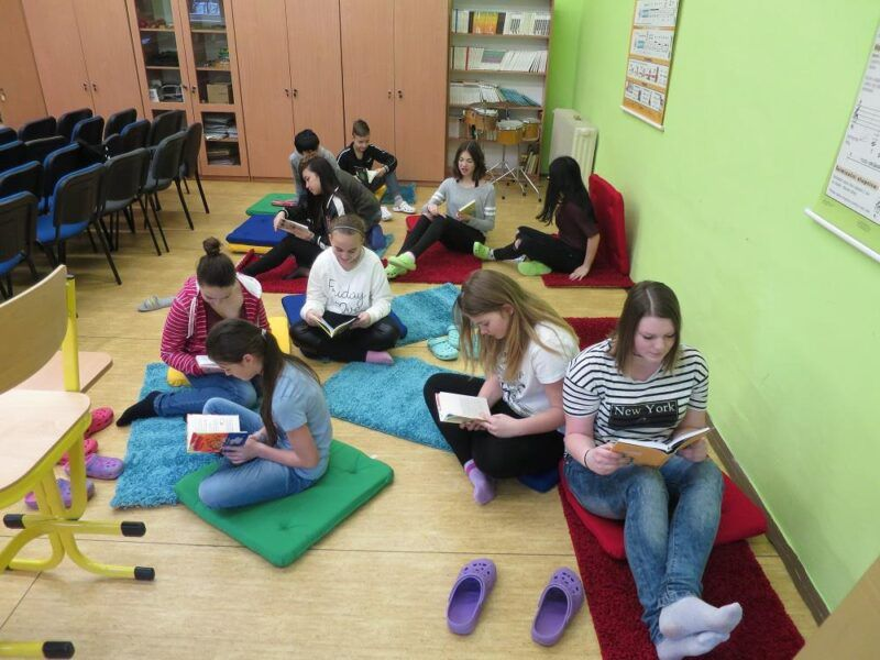 Školní čtenářské kluby na 2.stupni základní školy