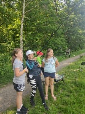 Čtvrťáci v lanovém parku